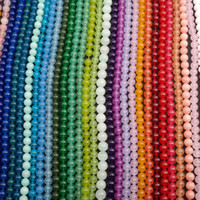 Wholesale Personalized Flags - 8mm Natural Chalcedony Beads Wholesale Good Quality Jewelry Accessories Personalized DIY Bracelet Loose Bead Chalcedony Jade Stone Beads