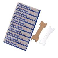 bandes nasales anti ronflement achat en gros de-Ronflement Aides réductrices Arrêtez de ronfler Anti-ronflement Tan Bandelettes nasales Nez Souffle facile Aide au sommeil facile