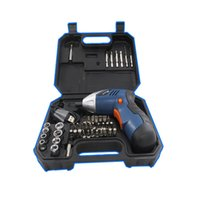 Wholesale 15 Screwdriver - 15*14*5.5Cm Power Tools Electric Screwdriver Set Portable USB Screwdriver Durable Multi Function Household Screwdrivers Kit 46Pcs Set
