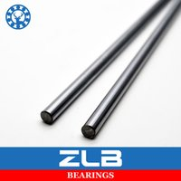 Wholesale Printer Routers - Wholesale- Linear Shaft 8mm WCS Bearing Axis Router Round Chrome Steel 600mm Hardened 3D Printer Linear Motion Slide Rod Rail CNC