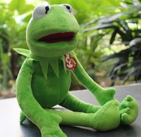 Wholesale Stuffed Frog Animal Toy - 40cm Kermit Plush Toys Sesame Street Doll Stuffed Animal Kermit Toy Plush Frog Doll