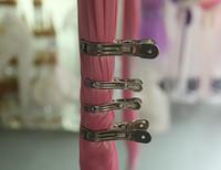 için kullanılan düğün süslemeleri toptan satış-Düğün perde klipleri ev kullanımı için klip düğün arka plan klip çelik climp düğün süslemeleri klipleri WT028