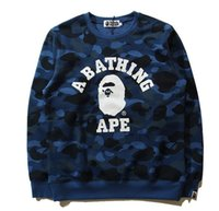 Wholesale Asian Clothing Men - aape letters black and white printed sleeve tee shirts Hip hop men women Apr. Spring T-shirts Asian size Street clothes