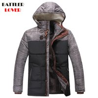 Wholesale Napapijri Winter Jacket - 2017 Men Winter Jacket Coat Thick Warm Cotton Parkas Jacket Mens Ultralight Brand Napapijri Parka Man Hooded Autumn Down Jackets