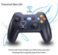 controlador de janela venda por atacado-Tronsmart mars g01 2.4 ghz gamepad sem fio para playstation 3 ps3 controlador de jogo joystick para android caixa de tv do windows kindle fogo