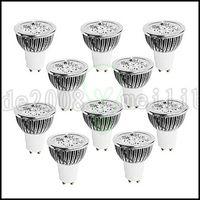 Wholesale Pc Spotlight - 4W GU10 LED Spotlight 4 High Power LED 320 lm Warm White   Cool White   Natural White Dimmable AC 110-240 V 10 pcs LLWA146