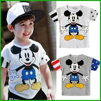 Wholesale Cheap Minnie Mouse - cheap price quality minnie mouse baby boys girls t-shirts children cartoon print lovely happy style kids clothing tops fast free shipping