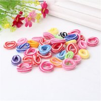 Wholesale Packing For Hair Bands - Wholesale- 1 Pack New Colorful Random Headband Children Hair Accessorie Kids Dress Headwear Gum For Bracelet Hair Band Scrunchy