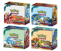 Wholesale Games Break - Poke Trading Cards Games Break Through English Edition 4 Styles Anime Pocket Monsters Cards Toys 324pcs lot