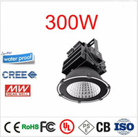 Wholesale Led Field Lighting - Super bright USA CREE Mean Well Basketball Stadium Football Field Golf Harbour Airport Outdoor Lighting IP65 Led High Bay Light