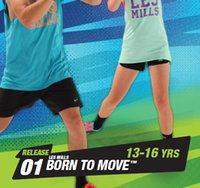 Wholesale Kids Aerobics - Hot Sale BTM Course New Routine RELEASE BORN TO MOVE 13-16 YRS Children Kids Aerobics Fitness Exercise Videos
