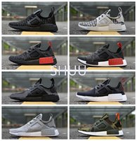 Wholesale Multi Noise - NMD XR1 PK Trainers Training Sneakers NMD XR1 Primeknit OG PK Zebra Bred Blue Shadow Noise Duck Camo Core Black Fall Olive Running Shoes
