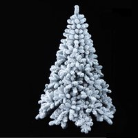 Wholesale 1 m CM Christmas tree flocking factory outlets mall Christmas Snow Christmas decorations