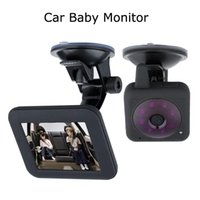 Wholesale Nightvision Car Camera - 3.5 inch LCD 2.4GHz Wireless Digital Car Video Baby Monitor IR Night Vision Security Camera with Rechargable Battery