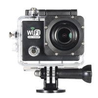 """Wholesale Camera For Fpv - Full HD Wifi Action Sports Camera DV Cam 2.0"""" LCD 12MP 1080P 30FPS 140 Degree Wide Lens Waterproof for Car DVR FPV PC Camera Diving DH D3586"""