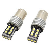 Wholesale car lamp bulb 3157 online - 2x Canbus T20 T15 W16W P21W LED SMD Bulb Car Signal Parking Backup Reversing Fog DRL light Lamp