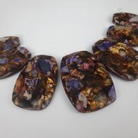 Wholesale natural purple jasper beads - Free Shipping Top Quality Natural Purple Gemstone Emperor Beads Freeform Imperial Jasper Beads Slice Beaded Women Jewelry Make Wholesale