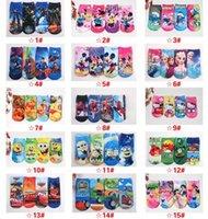 Wholesale Ship Kids Socks - new socks for men kids women 3d Children socks cotton printed female ship socks printed gun emoji socks Unisex socks 100pcs=100pairs
