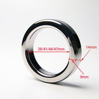 Wholesale toy 9mm online - A024 mm thickness mm mm mm mm stainless steel cockring male metal cock rings sex toys help erection extending sex time