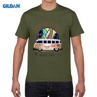 Wholesale Samba Shirts - 2017 Newest Letter Print Men Print Tee Cool Fashion Novelty Style T shirt Surfer Bus Surfings Retro Samba T1 T2 T3 Auto Car Tee