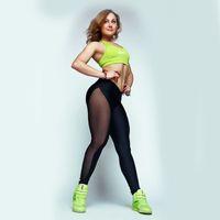 ingrosso gambali in spandex in pelle-donne leggings sportivi pantaloni sexy moda patchwork in similpelle leggings da palestra per donna sport leggins joggings abbigliamento hight quality new