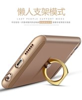 Wholesale Cameras Case For Sale - New Sale Back Cover Shock Proof Case Ring Stent Camera Len Protector 3 in 1 For Apple iPhone 6 6s Ring Ultra Thin Phone Case