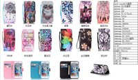 Wholesale Apple Tree Girl - Wallet Leather Case For Iphone 7 7P Plus  6 6S SE 5 5S Touch 6G 5G 6 Owl Flower Girl Tree Sunflower Butterfly Smile Cartoon Cute Flip Cover