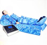 hava cihazları toptan satış-3 in 1 mikro akım kızılötesi hava basıncı lenfatik drenaj cihazı