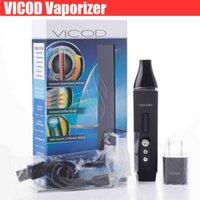 Wholesale Top Mod Vaporizers - Top Vicod vaporizer kit dry herb herbal vaporizers vape pen kits atmosvicod Habit Viva airis vapor mods OLED 2200mAh TC e cig cigarettes DHL