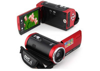 "Wholesale Pink Shooting - Free shipping 16MP HD Digital Camera 16X Digital Zoom Shockproof 2.7"" SD Camera D40"
