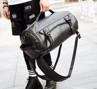 bandolera coreana para hombre al por mayor-Bolso de la marca de fábrica de las ventas de la versión coreana de la nueva capacidad grande de los hombres de la manera casual bolso del hombro de la mochila del baloncesto de la personalidad del bolso