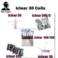 Wholesale iclear 16d coils for sale - Group buy Original Innokin Iclear X1 B S Coils iclear B D Vaporizer Coil Head Fit iclear Series Atomizers Authentic