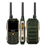 Wholesale Chinese Wholesale Torches - New GRSED YAX8800 UHF Walkie Talkie PTT radios Rugged mobile Phone 3000-5000m 2.4Inch 3W torch 8800mah power bank cellphone