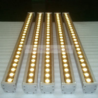 Envío gratis de alta calidad 36x3W Warm White LED Wall Washer Bar Lights, Warm White LED Bar Light