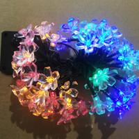 ingrosso rgb shell-Vacanza solare stringa shell shell shell LED striscia di luce natalizia vacanza decorazione LED fata luci da giardino Ip65 all'aperto utilizzando
