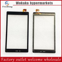 Wholesale Alcatel Parts - Wholesale- For Alcatel One Touch Pixi 4 (7) 3G 9003X 9003 Tablet PC Touch Pad Digitizer Glass Lens Panel Front Outer replacement parts