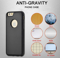 Anti-Gravity Factory Direct Selfie Stick TPU PC Nano caja antigravedad del teléfono para iphone7 7plus 5 5s 6
