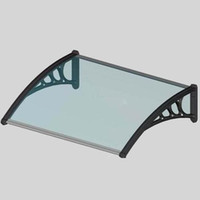 Wholesale DS60100 P x100cm Depth cm Width cm Polycarbonate Awning Canopy Shelters Awning Door Polycarbonate Auvent Polycarbonate Door Awnings