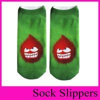 Wholesale Funny Slippers For Men - Many Funny Emoji Socks Cartoon Printing Sock Slippers Impish Ankle Socks Cute Socks Freak Sock For Women Men Girls Protective Sleeves