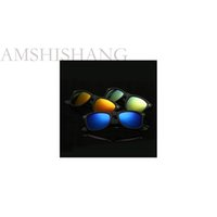 Wholesale Male Fashion Sunglasses - ELITERA Fashion Sunglasses Men Polarized Sunglasses Men Driving Mirror Coating Points Black Frame Eyewear Male Sun Glasses UV400