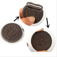 Wholesale Toys Wholesale Chocolate - Funny Oreo Cookies Reduction Magic Props Toys Close-up Magic Cookies Reduction Tricks Toys Trick Biscuit Toy Free Shipping YH128