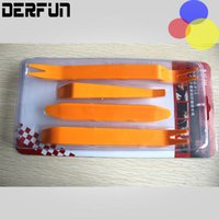 Wholesale Disassembly Tools Kit - 4pcs Kit Car Disassembly Tools Car dvd player Stereo Refit Tools Interior Plastic Trim Panel Dashboard Installation Removal Pry