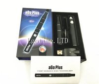 Wholesale New Ago G5 - MOQ=2Set Original New design Ago Plus Ceramic Donut Wax Dry Herb Vaporizer Upgraded Version Ago G5 2 in 1 vaporizer VS Snoop dogg
