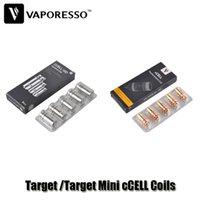 Wholesale Wholesale Gd - Authentic Vaporesso Target Mini cCELL GD Coil 0.5 1.4ohm Target 0.5 0.6 0.9ohm Ceramic Coils