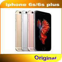 Wholesale Apple Iphone Phones - Refurbished Original Unlocked Iphone 6s Mobile phone 4G LTE 4.7 inches IOS 2GB RAM 16GB 64GB 128GB ROM 12MP 2160p 1715mAh cellphone