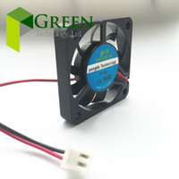 Wholesale Graphic Card Sleeves - New 4007 40MM 4CM fan 40*40*7mm 5v 0.15A 12V 0.1A The graphics card fan Cooling fan laptop miniature quiet fan 2pin