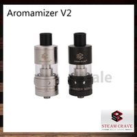 Steam Crave Aromamizer V2 RDTA Tank 3ml 6ml SC201 SC201-S Aromamizer V2 Zerstäuber 2 Post Built-Deck Velocity Style 100% Original