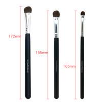 Wholesale pro tools mixing - Happy Makeup 3pcs Pro Makeup Cosmetic Pony Horse Hair Mix Size Eyeshadow Brushes Eye Brush Set Kit Professional Tools