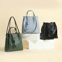 Wholesale Womens Fashion Shoulder Bag Canvas - 2017 New Handbag Handbag Shoulder Bag Korean Fashion Bag Tassel Handbags Hangbag for Womens