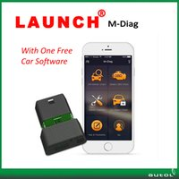 Wholesale launch x431 software - With One Free Car Software !!! Launch X431 M Diag OBD2 Diagnostic Tool M-Diag For Android & IOS with free shipping